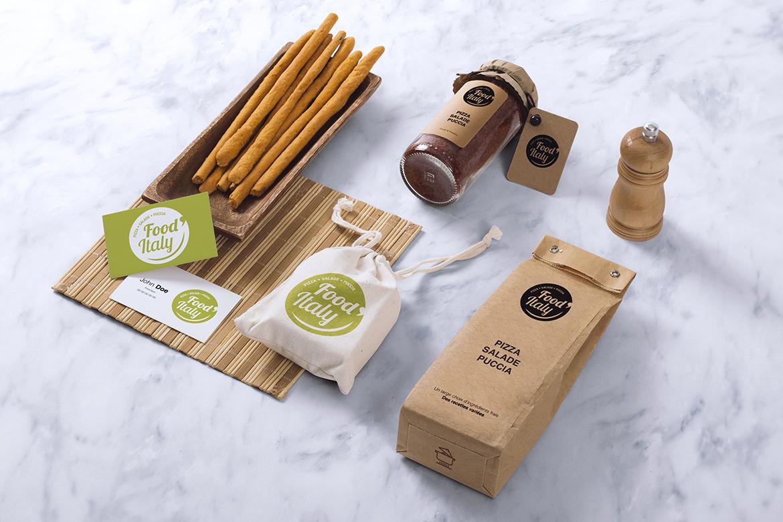 Charte Graphique Food Italy La petite agence parisienne